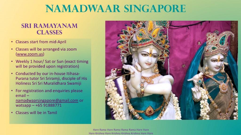Ramayana Class